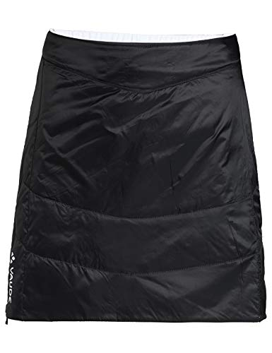 VAUDE Damen Women's Sesvenna Reversible Skirt Kleid-Rock, Black, 38