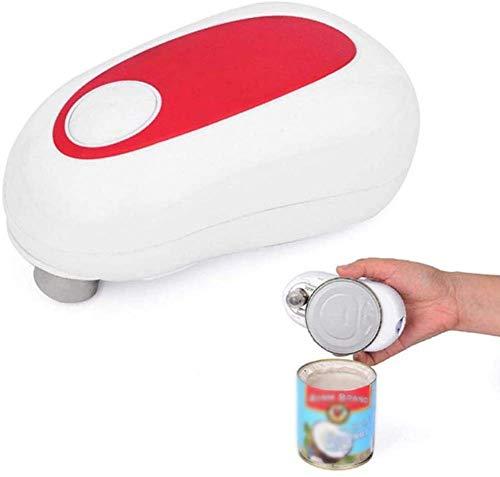 LLSS One Touch Ouvre-Bocal Automatique Réglable Easy Can Tin Open Tool, Ouvre-boîte électrique, Ouvre-Bouteille de Bocal Accessoires de Cuisine Polyvalents