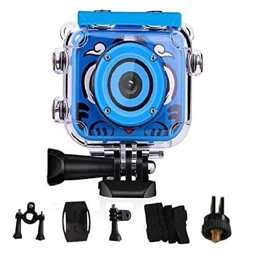 Cámara de fotos para niños, resistente al agua, cámara de vídeo 1080p HD de acción submarina infantil, cámara digital con juegos de 3 a 10 años, regalo con pantalla