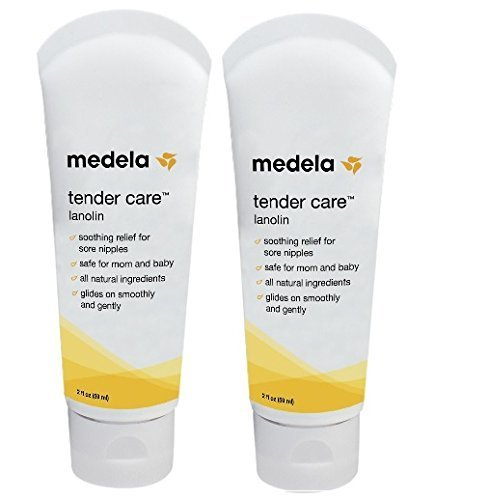 Cheap Medela Tender Care Lanolin Tube, 2 ounce (2 Pack)