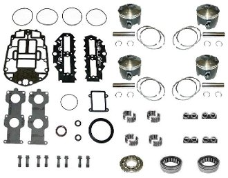 Review Powerhead Rebuild Kit Johnson & Evinrude FFI 90-115hp, 1999-2006