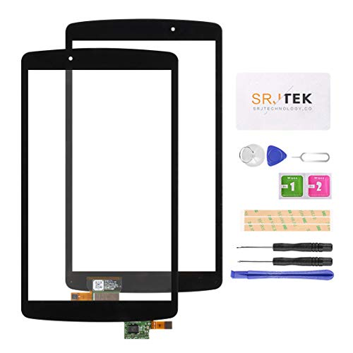 Screen Replacement for LG G Pad F 8.0 V495 V496 UK495 Touch Screen Digitizer Front Glass with Repair Tool Kit