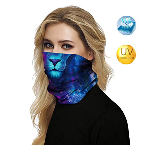 Microfiber Novelty Bandanas Naadloos gelaatsscherm Beschermen tegen stof Zon UV Windzand voor Heren Dames Buiten, Festivals, Sport, Fietsen - Meer dan 10 manieren om te dragen,C