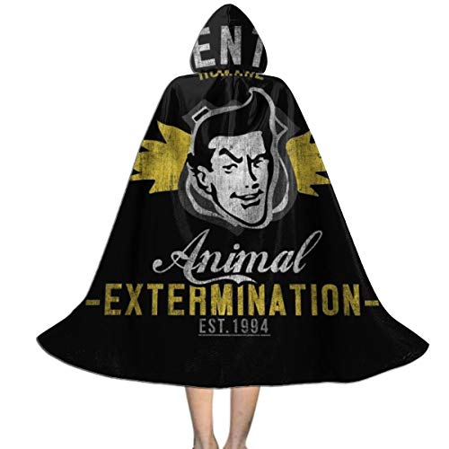 NUJSHF Ace Venturas - Capa con Capucha Unisex para Disfraz de Halloween