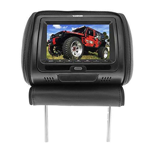 DS18 HT9 9 pulgadas reposacabezas de coche, pantalla reposacabezas, monitor de asiento de coche, monitor de pantalla ancha, transmisor...