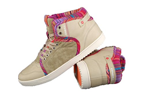 O´NEILL Damenschuhe - Sneaker MOBE, Schuhgröße:EUR 38;Farbe:Sand