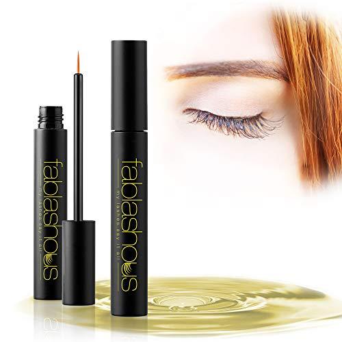 Serum Cils & Sourcils revitalisant, pour une croissance rapide en 7 jours – Serum visage 7ml effet rehaussement cils et repousse sourcil [Maquillage Femme FABLASHOUS]