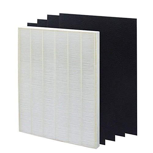 True HEPA Plus 4carbono filtro de repuesto para WINIX 115115tamaño 21para Plasma Wave WAC5300, WAC5500, wac6300, 5000, 5000b, 5300, 5500, 6300y 9000