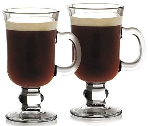 Maxwell & Williams - Bicchiere di Vetro per Irish Coffee, 250 ml, Set da 2 Pezzi, in Confezione Regalo, Trasparente
