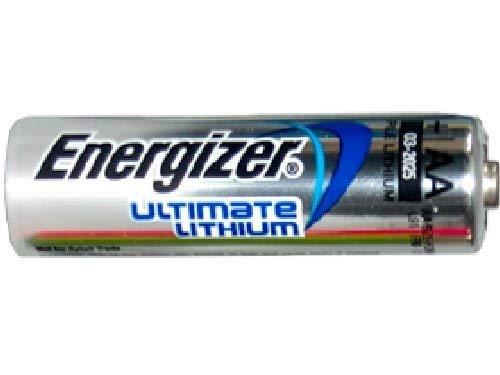 12 x AA Energizer Ultimate Lithium (L91) 1.5 Volt Batteries