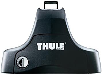 Thule 754 Rapid System Foot Pack For Cars With Noraml Roof Black Auto