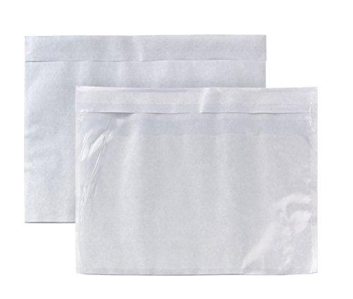 Begleitpapiertasche C5 (229x162mm) haftklebend Polyethylen 50my 500 Stück