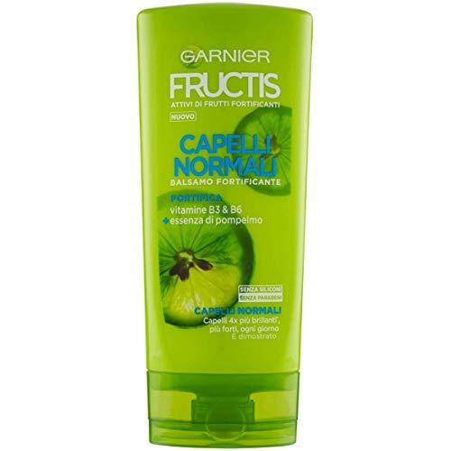 Garnier Balsamo Fructis Capelli Normali, Concentrato Attivo di Frutti, Capelli Forti e ottimi, 200 ml