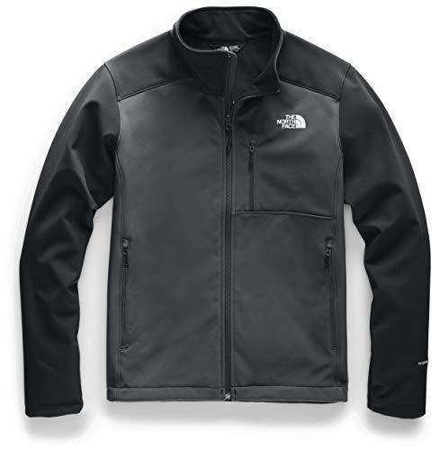 The North Face Men's Apex Bionic 2 Jacket, Asphalt Grey/TNF Black, Medium