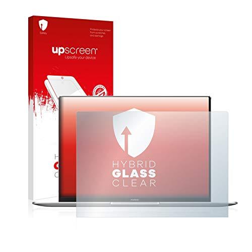 upscreen Hybrid Glass Panzerglas Schutzfolie kompatibel mit Huawei MateBook X Pro 2020 9H Panzerglas-Folie