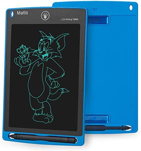 mafiti LCD Schreibtafel, Löschbare Elektronische Digitale Zeichenblock Doodle Board, Writing Tablet, Geschenk für Kinder Erwachsene Home School Office (8,5 Zoll Blau)