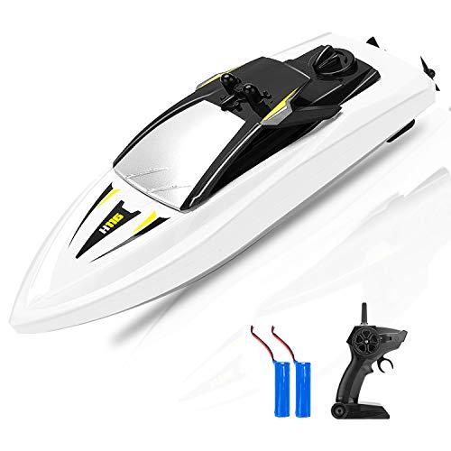 KOOWHEEL RC Boot, Ferngesteuertes Boot 2,4GHz Spielzeuge Über Langlebige wasserdichte für Kinder, Geschenk
