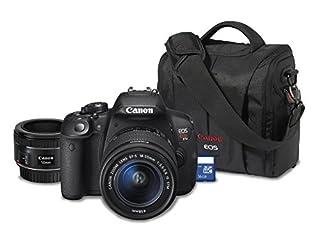 Canon Rebel T5i DSLR w/ 18-55mm and 50mm 1.8 STM Bundle (B0101RXDPK) | Amazon price tracker / tracking, Amazon price history charts, Amazon price watches, Amazon price drop alerts