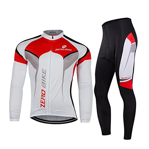 ZEROBIKE® Hommes Cyclisme manches longues respirante Jersey séchage rapide Mesh Vêtements de Cyclisme