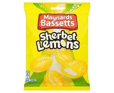 Bassetts Sherbet Lemons Sweets Bag (192g x 6)