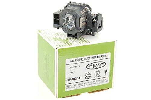 Alda PQ-Premium, Beamerlampe/Ersatzlampe für EPSON Cinema 700, EB-S6, EB-S62, EB-S6LU, EB-W6, EB-X6, EB-X62, EB-X6LU, EH-TW420, EMP-S5, EMP-X5, EMP-X52 Projektoren, Lampe mit Gehäuse
