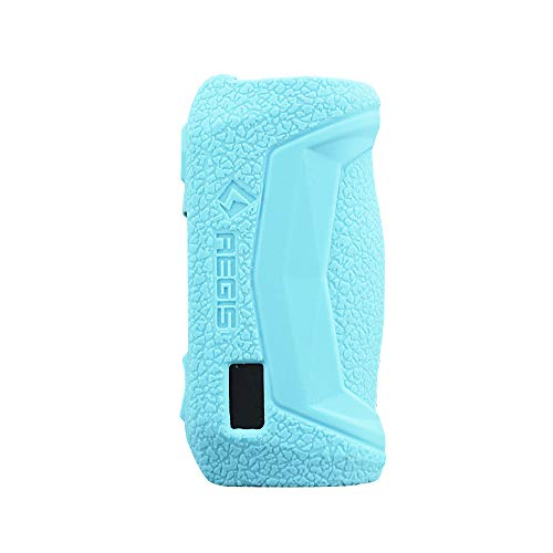 DSC-Mart Texture Case for GeekVape AEGIS Solo 100W Box Protective Silicone Rubber Sleeve Cover Shield Wrap Shield (TFblue)
