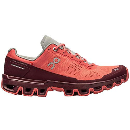 On Running Sneaker Cloud Venture Coral Woman 38 Rosa