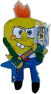 SpongeBob Squarepants 6 Inch Plush Figure RockerBob PunkPants