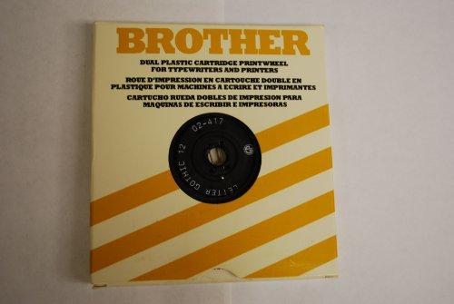 Brother Typewriter Daisy Wheel Printwheel for All Brother Typewriters