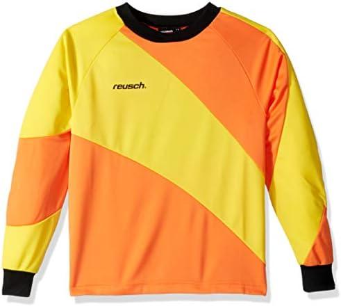 Reusch Soccer Prisma Long Sleeve Goalkeeper Jersey Orange Yellow Adult Small product image
