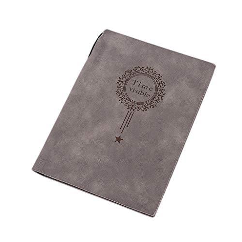 Cuadernos de taquigrafía Bloc de Notas Bloc Oficina y papelería (Color : Light Coffee Color, tamaño : 16 * 21cm)