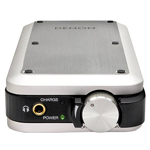 Denon DA10SPEM - Amplificador para Auriculares (DAC, USB, Salida Jack), Plateado