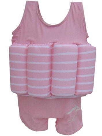 Float Suit, PS-2-3, Pink-gestreift, 2-3 Jahre