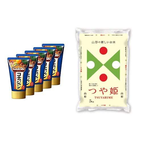 味の素 Cook Do コチュジャンチューブ 90g ×5個 +  【精米】山形県産 白米 つや姫 5kg 令和元年産