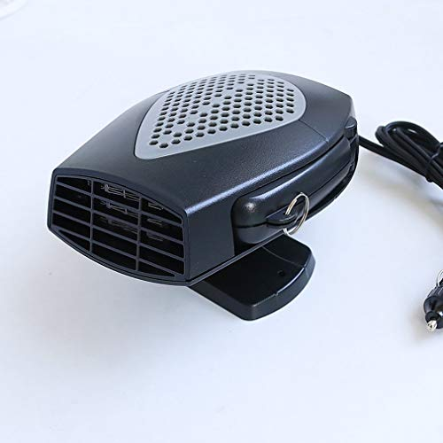BlackEdragon 12V Auto Elektroheizung Tragbare Fahrzeugheizung Kühlung Autoheizung Warmlüfter Schwarz 12V