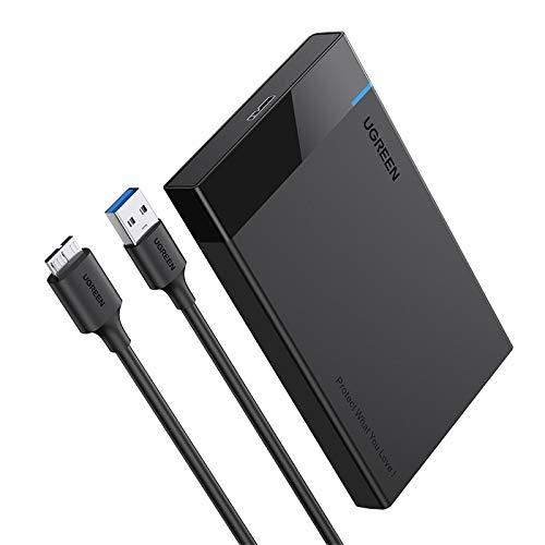 UGREEN Carcasa Disco Duro 2.5' USB 3.0...