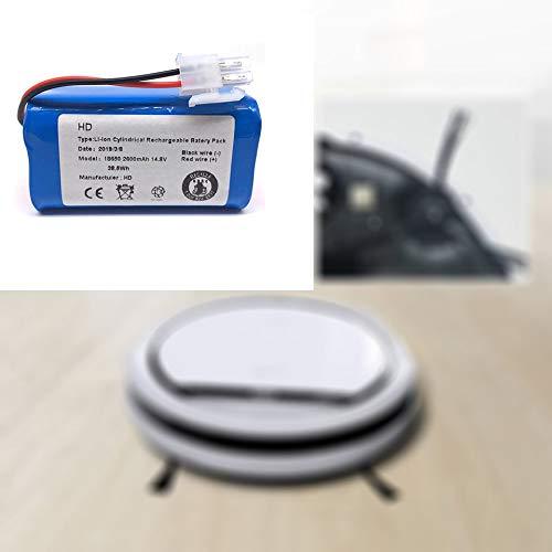 Feketeuki 14.8 V 2800 Mah Robot Aspiradora Batería sustitución ...