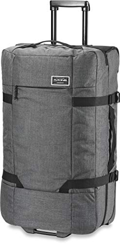 Dakine Split Roller Travel Luggage Trolley and Sports Bag with Wheels and Telescopic Handle, Grey (CARBON), 100 L (Manufacturer Size: 100 L)