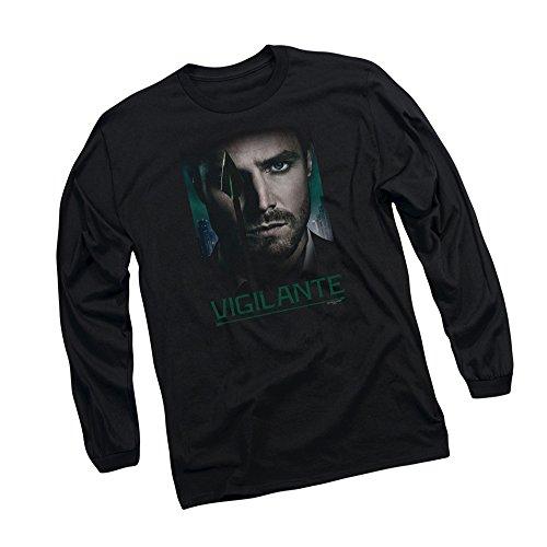 Good Eye - CW's Arrow TV Show Adult Long-Sleeve T-Shirt, X-Large Black