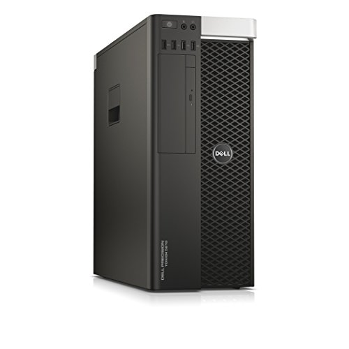 Dell Precision T5810 Tower Business Desktop PC High-End Build Your Own Computer, Intel Xeon up to 3.7GHz Processor, Windows 10 Pro Optional (Renewed)