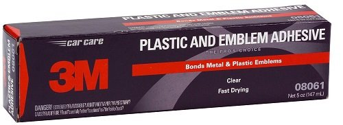 C.R. Laurence 3M 8061 CRL Clear 3M Plastic and Emblem Adhesive