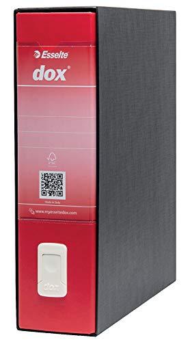 Rexel - Dox 1 classeur à levier, A4, Rouge
