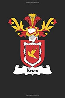 Knox: Knox Coat of Arms and Family Crest Notebook Journal (6 x 9 - 100 pages)