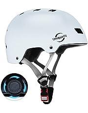 UniqueFit Kids & Adult Helm Verstelbare Beschermende Helm voor Scooter Fietsen Rolschaats,CPSC & ASTM Certified Helm