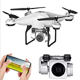 WHWYY RC Quadcopter Drone with Camera Live Video 110° FOV 1080P HD Camera WiFi FPV Quadcopter Foldable Drone Altitude Hold One Key Take Off/Landing
