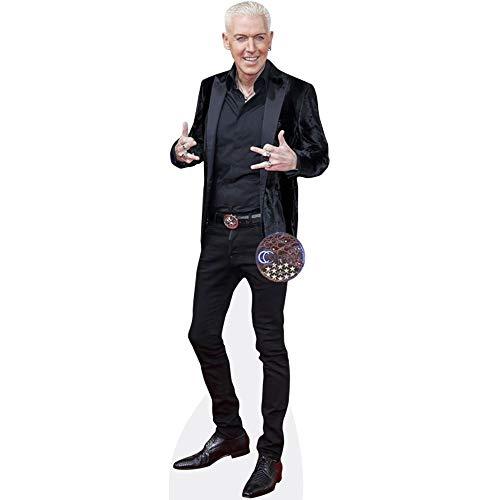 Celebrity Cutouts H.P. Baxxter (Velvet Jacket) Pappaufsteller Mini