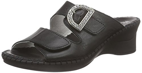 Hans Herrmann Collection Damen HHC Clogs, Schwarz (nero-10), 38 EU