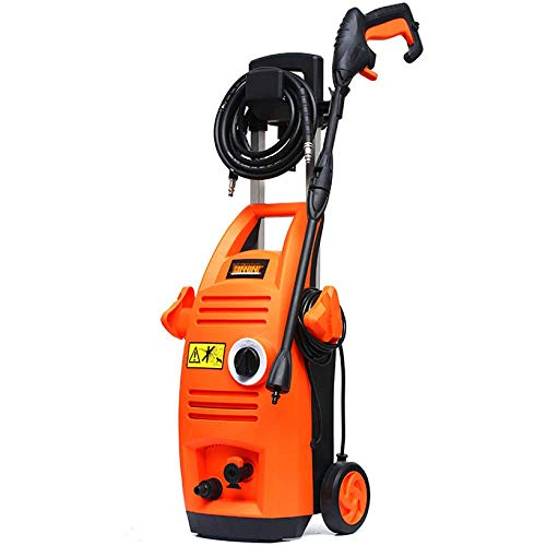Draagbare hogedruk-autowasmachine, elektrisch, hogedrukreiniger, voor het afdichten van de auto, voor huis, tuin, zone. Vistoso