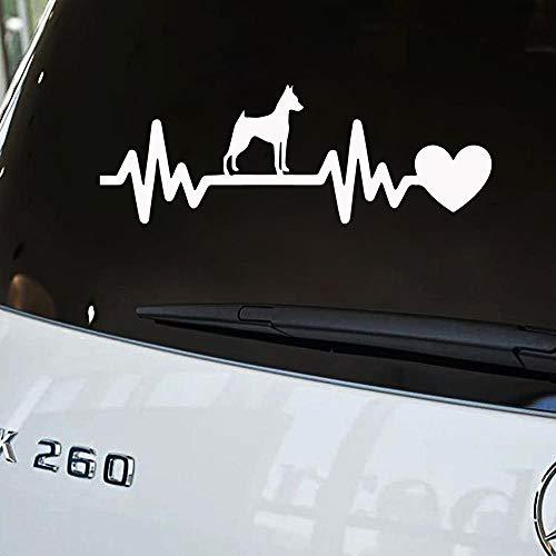hetingyue Hund Auto Aufkleber LKW Fenster Stoßstange Aufkleber Autotür tragbare Kajak Vinyl Aufkleber Aufkleber Dekoration 64x22cm