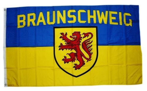 Flagge Fahne Braunschweig Wappen Fan 90 x 150 cm